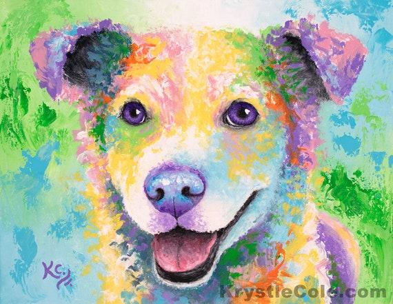 Buddy Dog Print