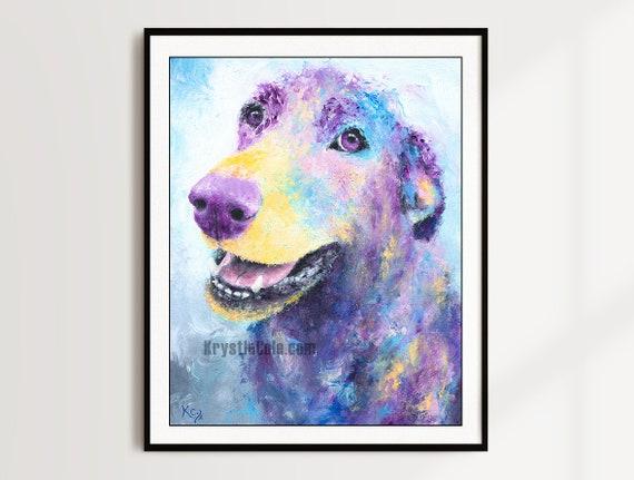 Labrador Retriever Print - Cody