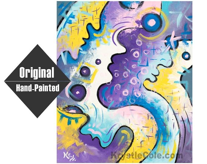"The Mortal Infinite Painting - 20x24"""
