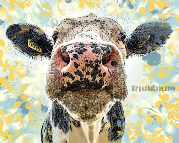 Cow #18 Print