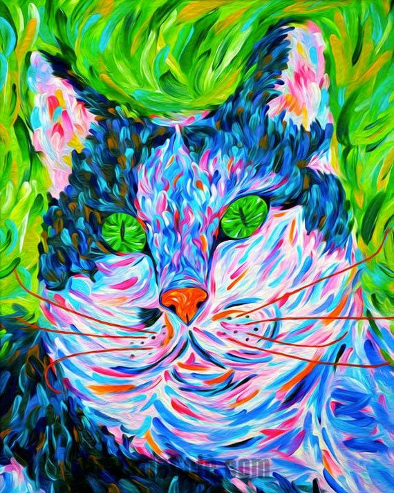 Cat Print - Spirit Bear