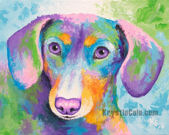 Dachshund Print - Miley Joe