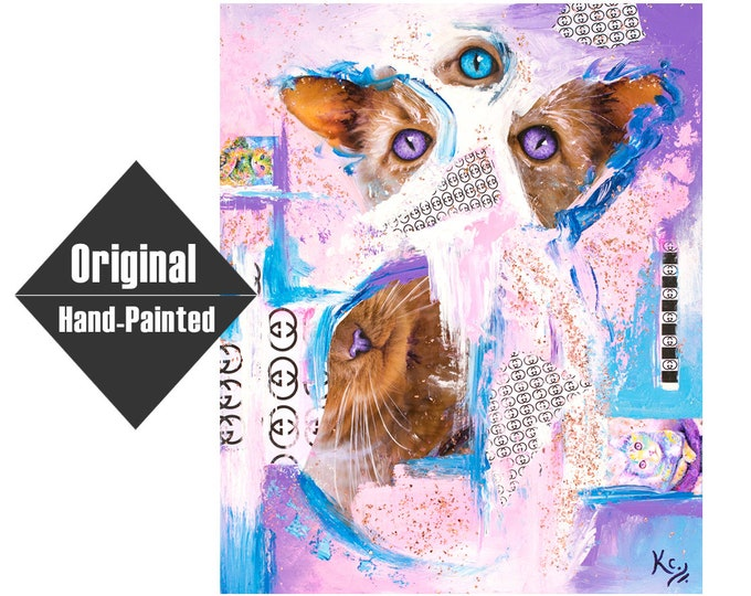 """Karma Couture Mixed Media Painting - 20x24"""""""
