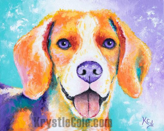 Beagle Painting