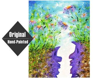 "Between Painting - 24x30"""