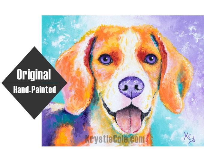 "Beagle Painting - 16x20"""