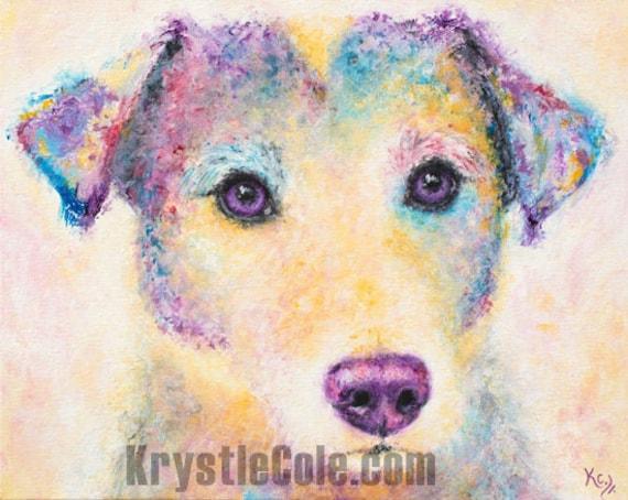 Jack Russell Terrier Print - Toro