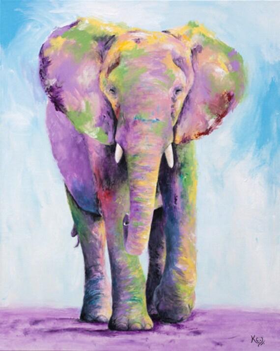 Elephant Titan Print