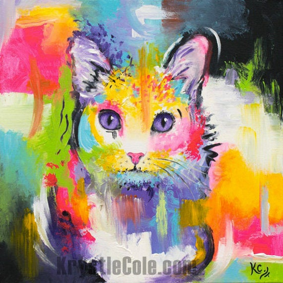 Meow Painting