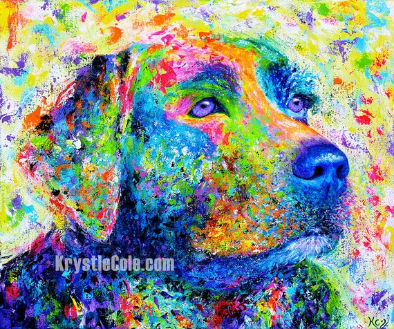 Labrador Retriever Print - Wanda