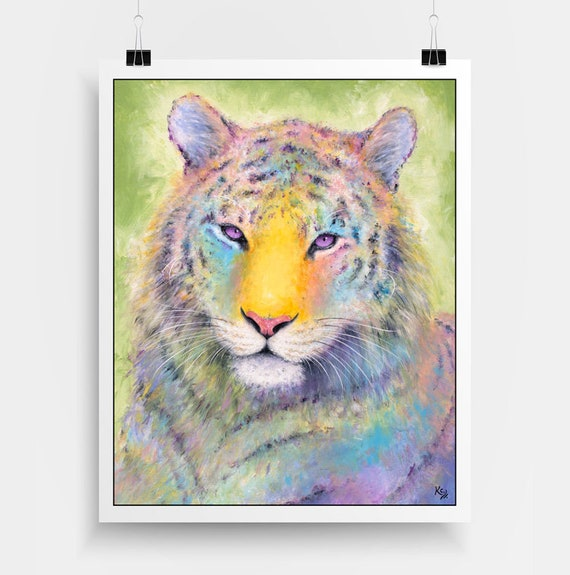 Amur Tiger Tigress Print