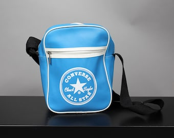 17572b1e52db Vintage 90s CONVERSE Blue Sports Bag
