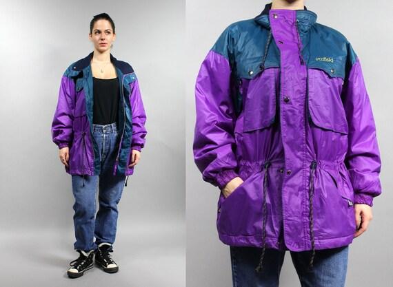 90s RAISKI Waterproof Skiing Puffer Jacket, Vintag