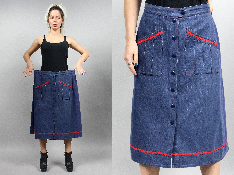 8b9ace3ca2 Plus Size Maxi Denim Skirt - Gomes Weine AG