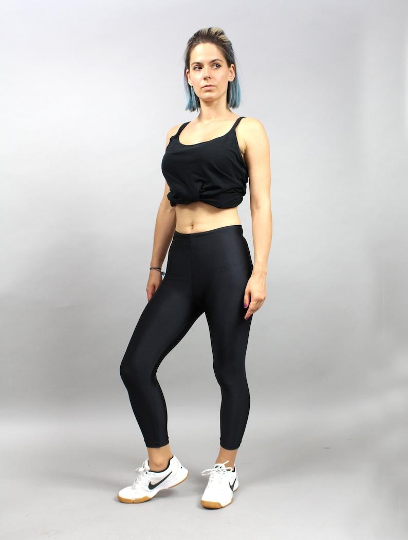 ea6fe18cad Vintage 90s Lycra Yoga Leggings Aerobic Tights Jogging