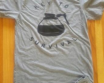 Key to survival tee
