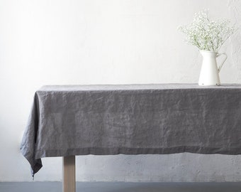 Genial Linen Tablecloth | Etsy