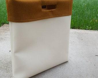 Faux Leather Multipurpose Bag