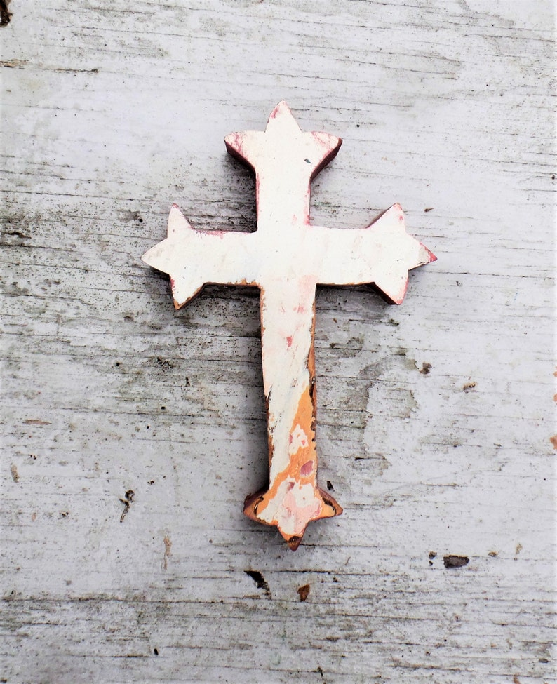 Rustic Wooden Cross Religious Wall Decor Wood Wall Cross Rustic Cross Christian Decor Religious Wall Art Reclaimed Wood Cross Wall Decor