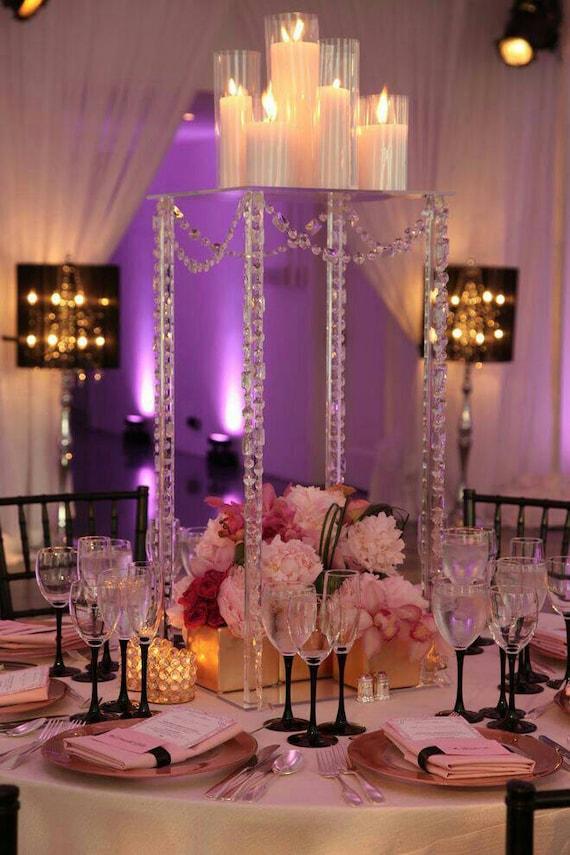 Wedding Centerpiecescandle Chandelierwedding Etsy