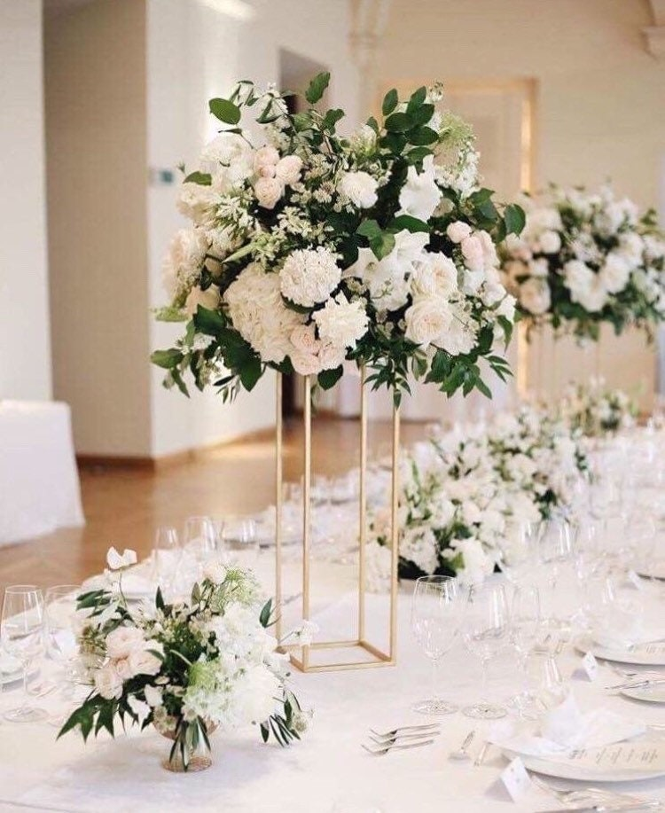 Ideas For Wedding Flower Arrangements: Flower Stand/ Wedding Centerpiece For Table/ Wedding Table