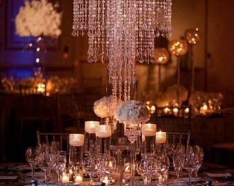 Wedding centerpiecescandle chandelierwedding chandelierwedding centerpiece for tablechandelier centerpiecestabletop chandeliercenterpieces for wedding aloadofball Images