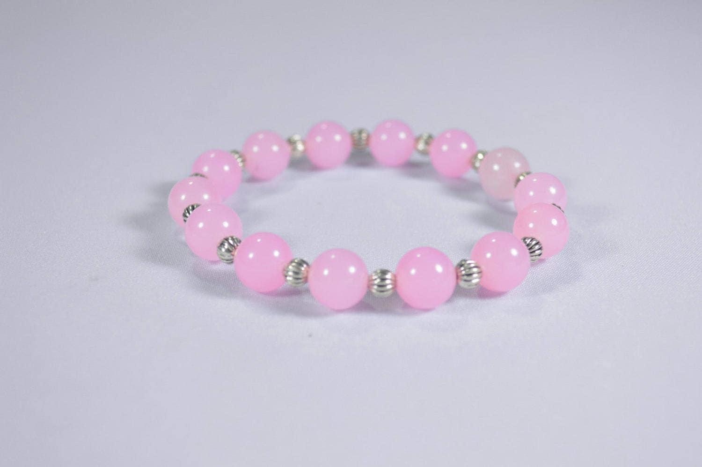 Romantic Rose Quartz 4mm gemstone beads