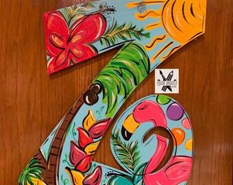 ab2f60de46047 Summer Decorative Letter