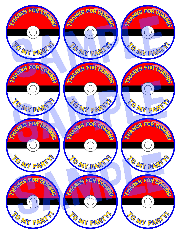 Pokemon Inspired /'Pokeball/' Vinyl Sticker