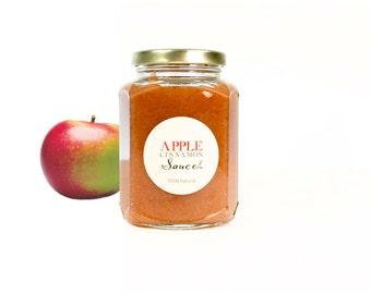 Heirloom Macintosh Cinnamon Applesauce // All Natural // New Hampshire Home Grown // 12oz