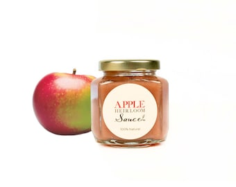 Gourmet Heirloom Macintosh Applesauce // All Natural // Sugar Free // No Additives // New Hampshire Home Grown // 6 oz