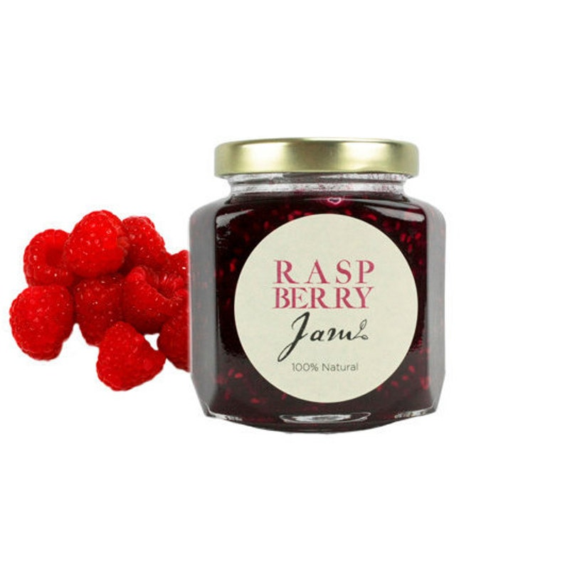 Gourmet Raspberry Jam // All Natural // New Hampshire Home image 0