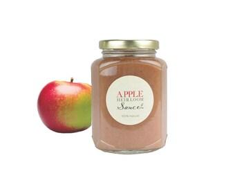 Gourmet Heirloom Macintosh Applesauce // All Natural // Sugar Free // No Additives // New Hampshire Home Grown // 12oz