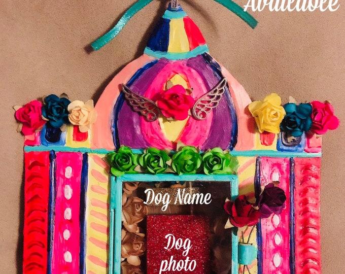 Nichos for Dogs that crossed the Rainbow Bridge/ Mexican Dog Nichos