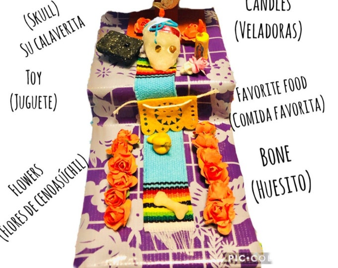 Mexican Dog Altars/ Mexican Altar for Day of the Dead/ Day of the dead dog memorials