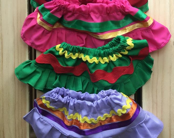 Falditas para perro/ Falditas Mexicanas para perritas/ Faldas de colores para perritas