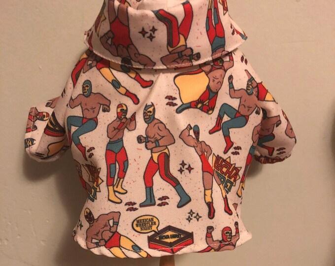 Camisas de luchadores para perritos/ camisas de lucha libre Mexicana/ camisitas de lucha libre