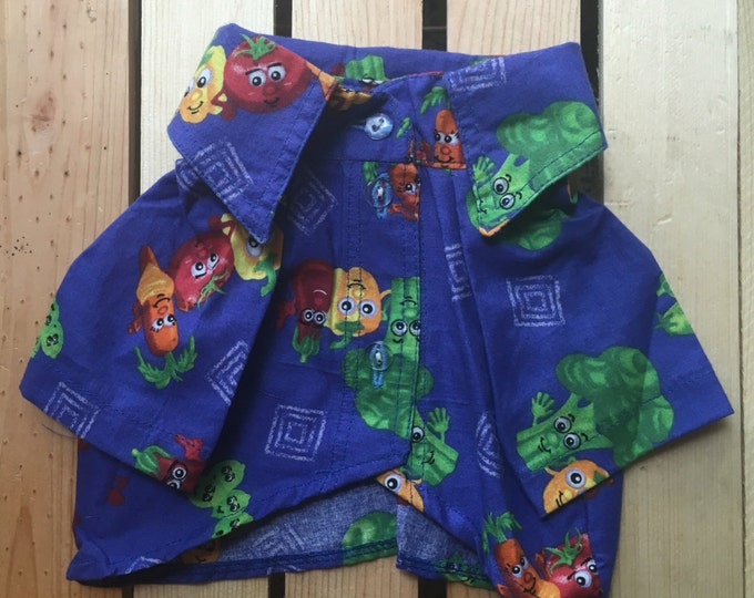 Mexican Dog Shirts / Dog shirts for spring / Dog Apparel / Dog Boutique/ Vegetables dog shirt/ Funny dog shirt