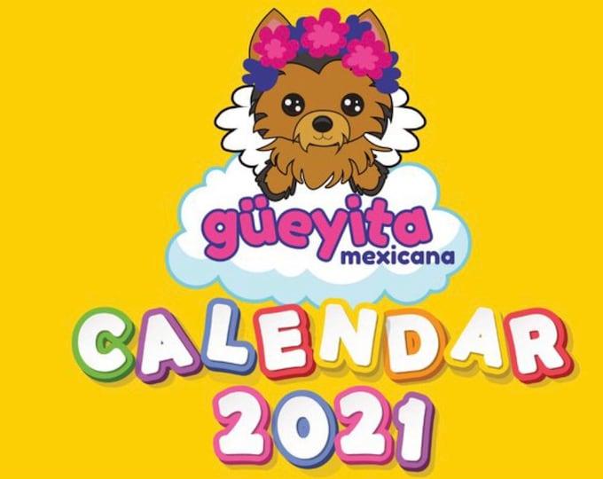 Dog Calendar 2021/ Güeyita Dog Calendar
