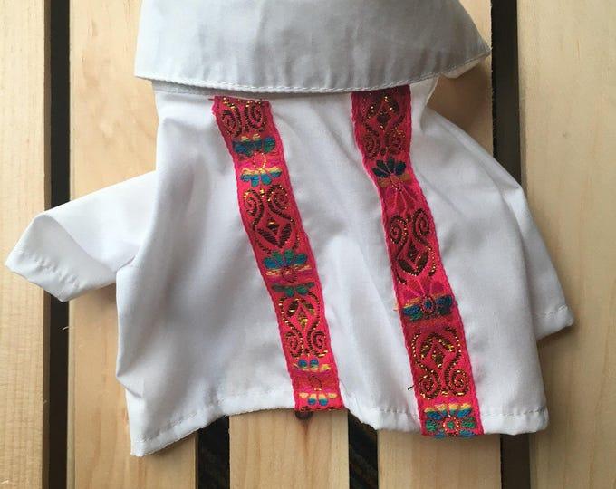 Camisas para perrito estilo Mexicano/ Camisitas perro tipo Mariachi / Camisas mexicanas para perrito