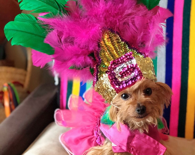 Aztec Dog Princess/ Mexican dog costumes/ Princess Aztec dog/ Aztec dog girl costume