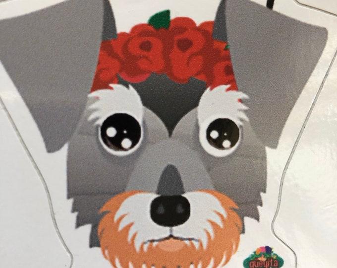 Estampas de perrito para coche/ Stickers de perritos/ stickers para tu computadora