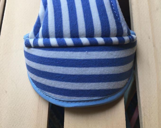 Summer dog hats/ Dog hats/ Stripes dog hats/ Summer dog accessories/ Puppy accessories