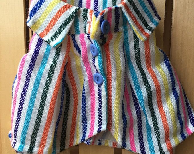 Camisas para perrito estilo Mexicano/ Camisitas de primavera/verano para perro/ Camisitas frescas para perro/ Camisas de rayas para perro