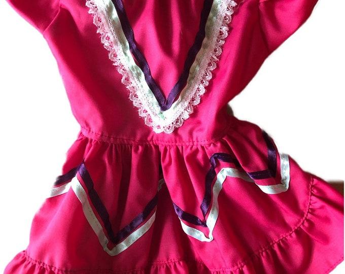 Vestido de Mexicanita para perro/ Disfraz Mexicana para Halloween & Cinco de Mayo/ Mexicanita, Cinco de Mayo dog girl dress
