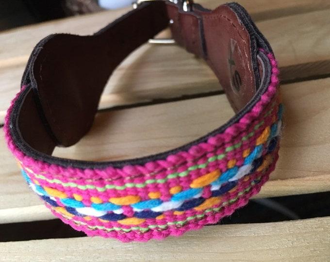 Collares para perro estilo Mexicano/ Collares de piel sintética para perro