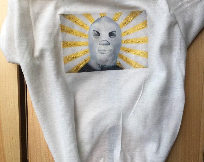 Dog T-shirt - Lucha libre edition/Luchador T-shirt /Masked professional wrestler t-shirt for dog/Mexican Dog tank tops
