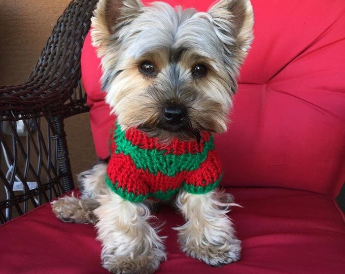 Handmade Dog Sweaters - Knitted dog sweaters - Artisans dog sweaters