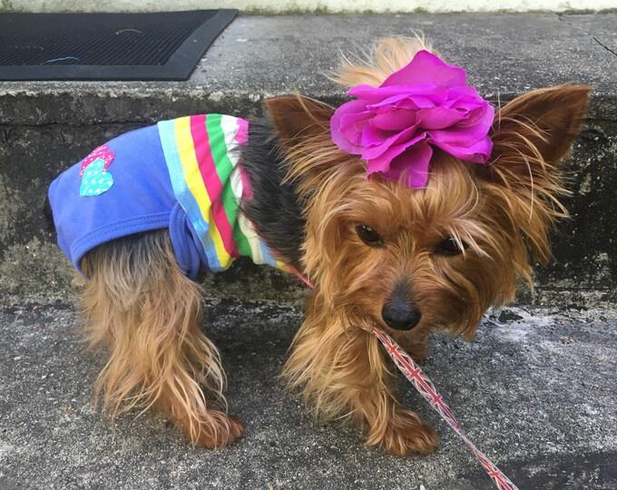 Trajes de baño estilo halter para perritas/ Trajes de baño para verano / Ropa de verano para perro/ Traje de baño para mascota