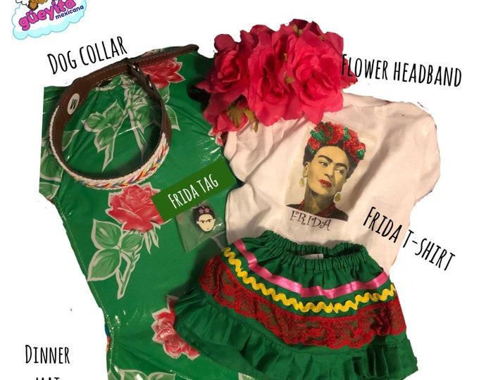 Frida Kahlo Gift box for dogs/ Frida inspired